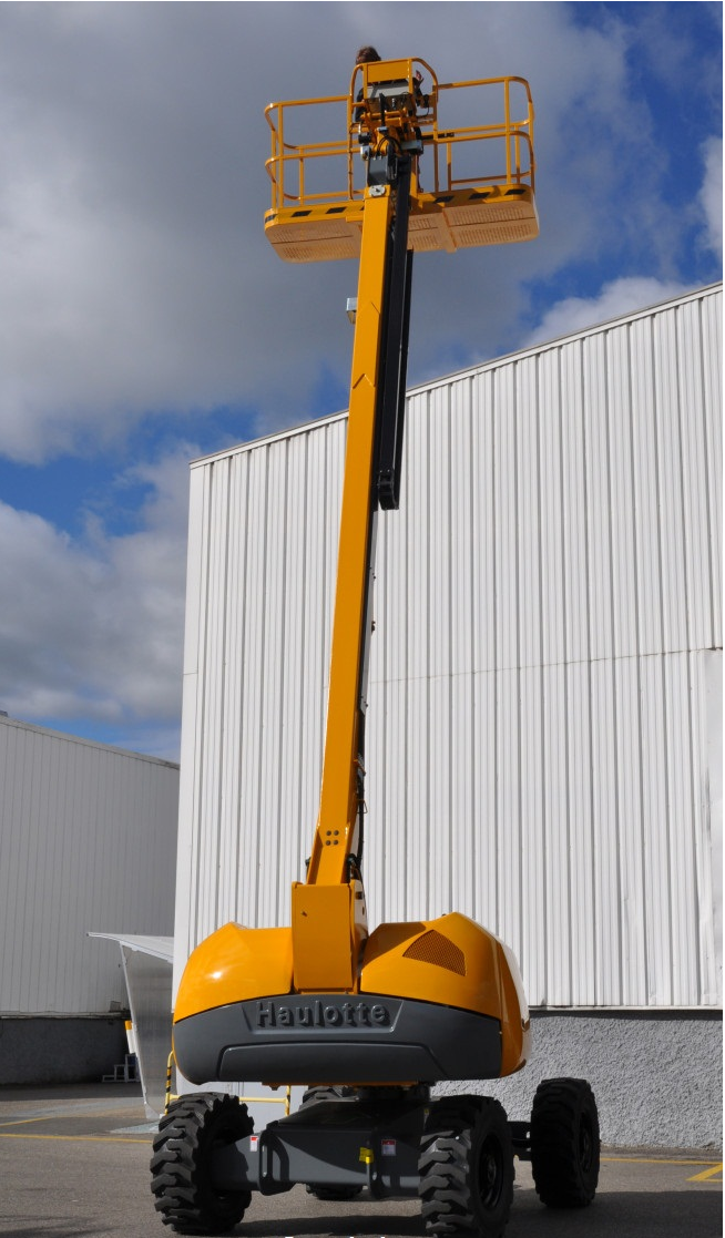 Boom Lifts-Articulating Self Propelled Haulotte